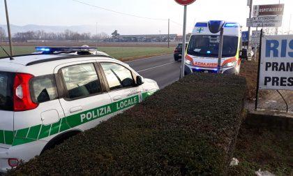 Auto fuori strada fra Cazzago e Ospitaletto FOTO