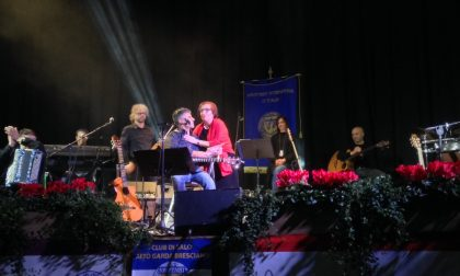 Al Teatro Cristal di Salò la musica di De Andrè per dire no alla violenza