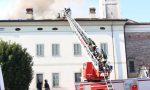 Incendio a Verolanuova in fiamme tetto di una casa