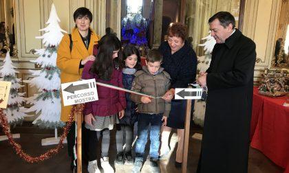 Inaugurata l'ottava mostra dei presepi in Villa Mazzotti