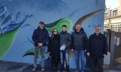 Inaugurato a Rovato il Murales di Cogeme