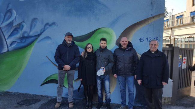 Murales a Rovato per la Fondazione Cogeme