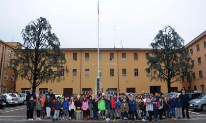 Scolaresche in gita al comando dei Carabinieri di Brescia
