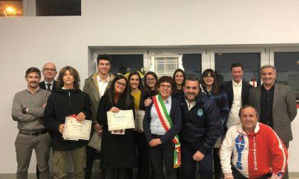 Consegnate le borse di studio e i riconoscimenti alle società sportive a Castrezzato