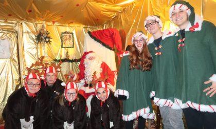 Inaugurata ad Azzano la casa di Babbo Natale