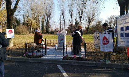 Inaugurazione del monumento Aido a Leno