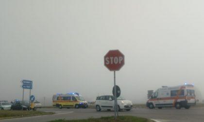 Altro incidente all'incrocio della Sp668 tra Esenta e la frazione Prati