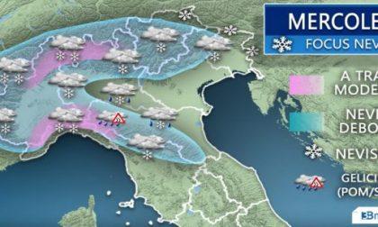 Nuova perturbazione in arrivo: ed è ancora allerta neve METEO