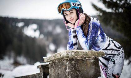 La salodiana Marta Rossetti debutta in coppa del mondo di sci