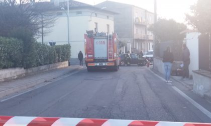 Incidente con fuga di gas a Rovato