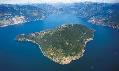 Frana di Tavernola, rischio tsunami anche per la riva bresciana