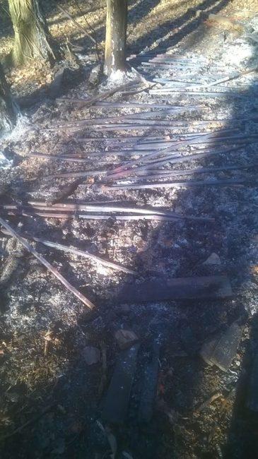 Bruciato a Castenedolo