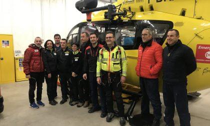 L'elisoccorso Brescia aumenta le possibilità di atterraggio in notturno