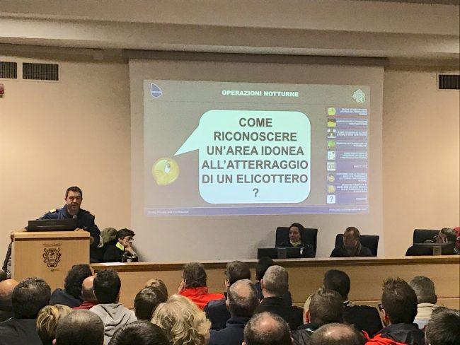 Elisoccorso Brescia relatore Comandante Pilota Gianfranco Molina