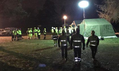 Maxi esercitazione a Ospitaletto: cinofili e protezione civile messi alla prova FOTO