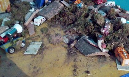 Vandali distruggono il presepe della Prociv di Montichiari
