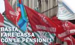 Pensionati bresciani in piazza, contro la manovra