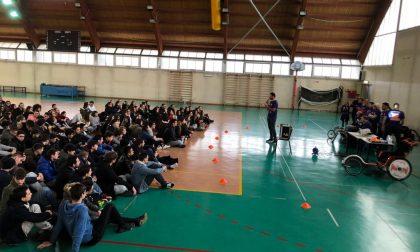 L'Istituto Marzoli di Palazzolo incontra Feel Sport con gli studenti