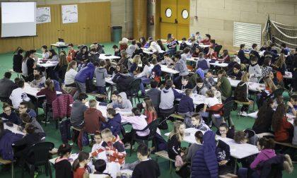 Una sfida di cervelli a Passirano con la gara di matematica a squadre