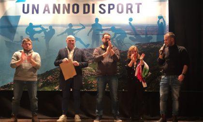 Festeggiamenti a Toscolano Maderno per la serata in omaggio agli sportivi