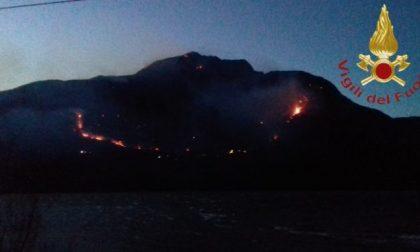 Allerta vento codice rosso nel Bresciano per rischio incendi