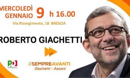 Roberto Giachetti incontra Brescia