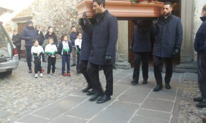 Comunità riunita a Iseo per dire addio a Vigo Nulli