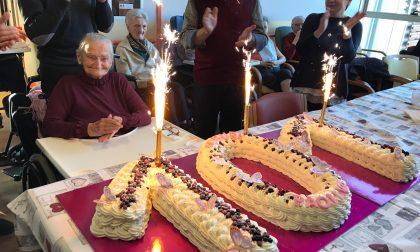 La decana di Iseo compie 101 anni: auguri Paolina
