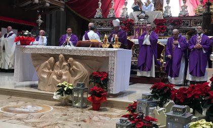 Il vescovo per celebrare i funerali di don Roberto