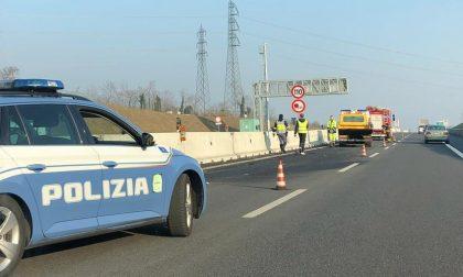 Incidente in autostrada: ferito un anziano
