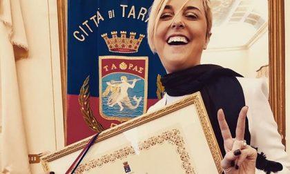 La bresciana Nadia Toffa cittadina onoraria di Taranto