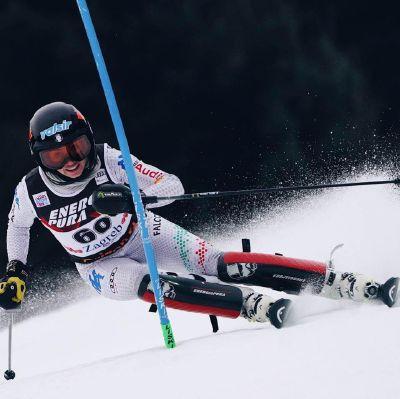 Marta Rossetti, la sciatrice bresciana trionfa in Coppa Europa