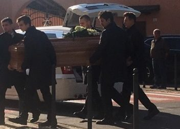 A San Giuseppe di Rovato in tanti per l'ultimo saluto a Giuseppe