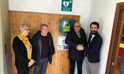 Nuovo defibrillatore a Palazzolo grazie a una donazione