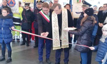 Inaugurazione della piazza Papa Giovanni XXIII e del sagrato a Borgosatollo