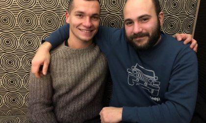 Mirko e Simone, ad Asola continua la pulizia degli argini del fiume Chiese