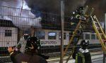 Treno in stazione a Greco-Pirelli: l'incendio è doloso VIDEO