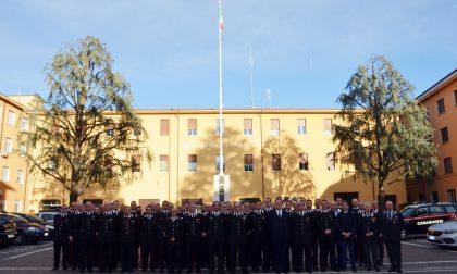 Il Generale Maruccia in visita al Comando provinciale di Brescia