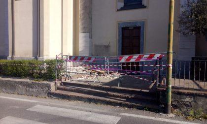 Cade travertino dalla chiesa del Sacro Cuore di Palazzolo GALLERY