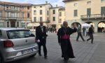 Vescovo Pierantonio Tremolada in visita a Chiari