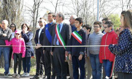 Inaugurata la pista ciclabile a Quinzano d'Oglio