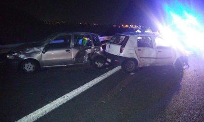 Incidente stradale in serata sull'A4: coinvolte tre persone