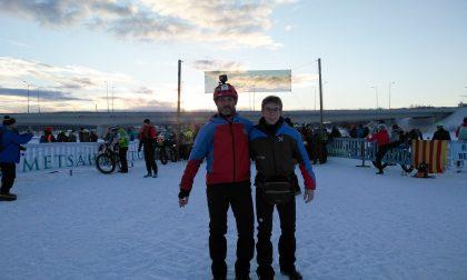 Da Roncadelle alla Lapponia, Diego e Maurizio conquistano la Rovaniemi