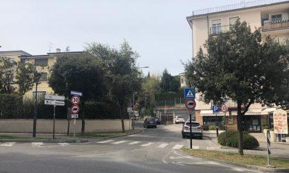 Chiusa via Irta a Desenzano