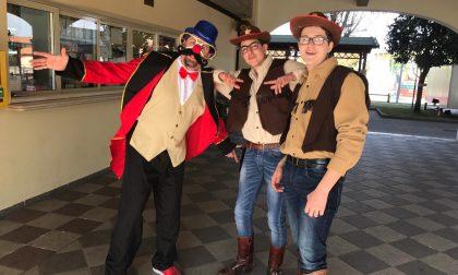 L'oratorio diventa il Far West per il Carnevale a Castrezzato
