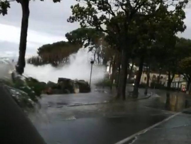 Maltempo e alluvioni a Desenzano, il video