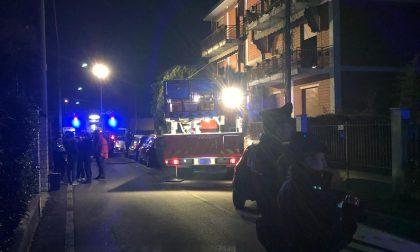 A fuoco un appartamento nella notte a Castelcovati