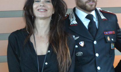 Luisa Corna si sposa con l'ex comandante dei carabinieri di Chiari