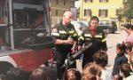 I Vigili del Fuoco di Desenzano nelle scuole alla ricerca di nuove leve