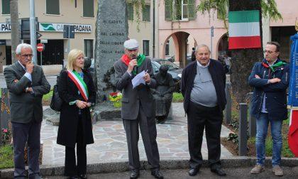 Inaugurato il Monumento ai Caduti del lavoro in piazza Resistenza